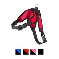 Copatchy No-Pull Reflective Adjustable Dog Harness, Red, Large