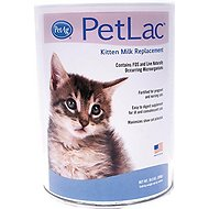 PetAg PetLac Kitten Milk Replacement Powder, 10.5-oz