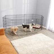 MidWest Universal Pet Playpen Extension Kit, 2 panels, 30-in
