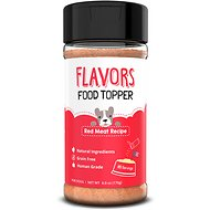 Basics FLAVORS Red Meat Recipe Grain-Free Dog Food Topper & Treat Mix, 6-oz bottle