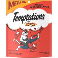 Temptations Rockin' Lobster Flavor Cat Treats, 6.3-oz bag