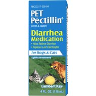 PetAg Pet Pectillin Diarrhea Medication Dogs & Cat Supplement, 4-oz bottle