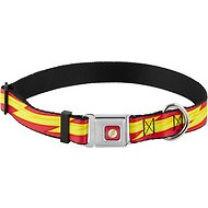 Buckle-Down The Flash Seatbelt Buckle Dog Collar, Large