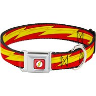 Buckle-Down The Flash Seatbelt Buckle Dog Collar, Wide Large