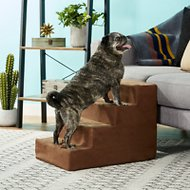 Petmaker Foam Pet Steps, Brown, 4-Tier