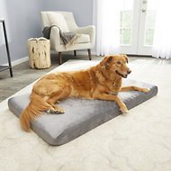 Petmaker Orthopedic Memory Foam Dog Bed, Gray, X-Large