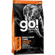 Go! Solutions Skin + Coat Care Salmon Recipe Dry Dog Food, 25-lb bag