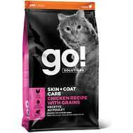 Go! Solutions Skin + Coat Care Chicken Recipe Dry Cat Food, 16-lb bag