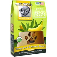 Wet Noses Hemp Seed & Banana Flavor Grain-Free Dog Treats, 14-oz box
