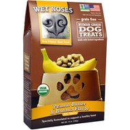 Wet Noses Peanut Butter & Banana Flavor Grain-Free Dog Treats, 14-oz box