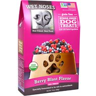 Wet Noses Berry Blast Flavor Grain-Free Dog Treats, 14-oz box