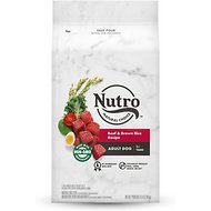 Nutro Wholesome Essentials Adult Beef & Brown Rice Recipe with Ancient Grains Dry Dog Food, 4.5-lb bag