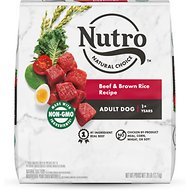 Nutro Wholesome Essentials Adult Beef & Brown Rice Recipe with Ancient Grains Dry Dog Food, 28-lb bag