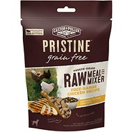 Castor & Pollux PRISTINE Freeze Dried Raw Meal or Mixer Grain-Free Free-Range Chicken Recipe Dog Food Topper, 5.5-oz bag