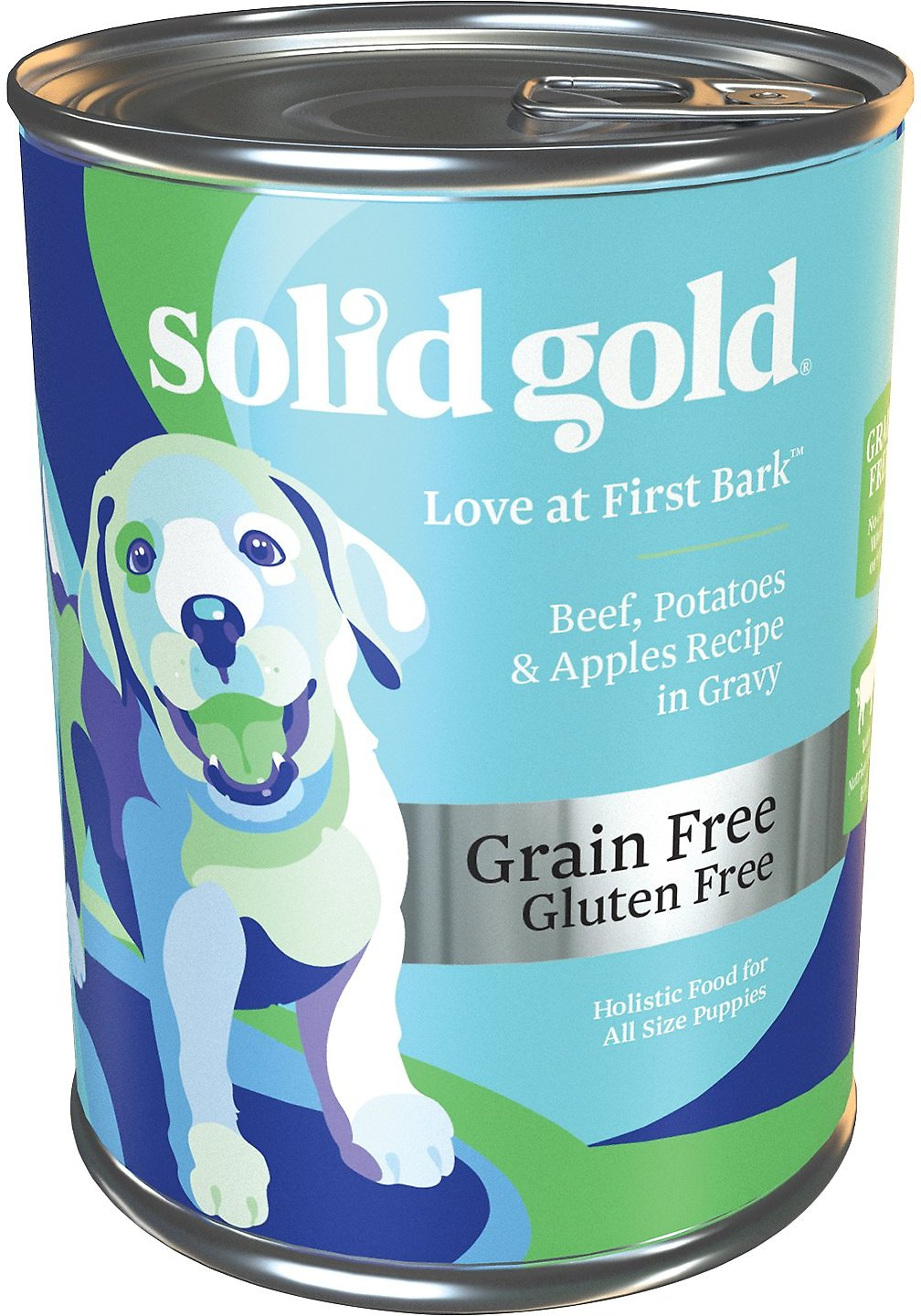 Solid Gold Love At First, Potatoes & Apples Puppy Recipe Canned Dog Food
