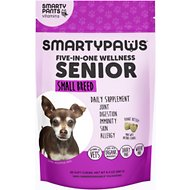 SMARTYPAWS Small Breed 5-in-1 Vitamin Senior Dog Supplement, 60 count