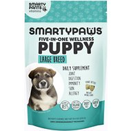 SMARTYPAWS Large Breed 5-in-1 Vitamin Puppy Supplement, 60 count