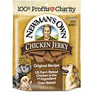 Newman's Own Chicken Jerky Original Recipe Dog Treats, 5-oz bag
