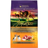 Zignature Kangaroo Formula Small Bites Dry Dog Food, 4-lb bag