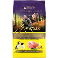 Zignature Turkey Formula Small Bites Dry Dog Food, 4-lb bag