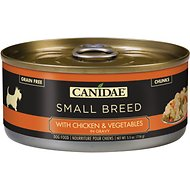 CANIDAE Small Breed Chicken & Vegetables in Gravy Canned Dog Food, 5.5-oz, case of 24