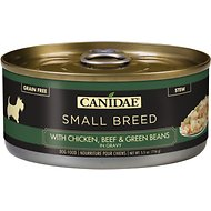 CANIDAE Small Breed Chicken, Beef & Green Beans in Gravy Canned Dog Food, 5.5-oz, case of 24