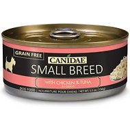 CANIDAE Small Breed Chicken & Tuna in Gravy Canned Dog Food, 5.5-oz, case of 24