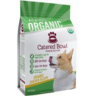 Catered Bowl Organic Chicken Recipe Dry Dog Food , 4-lb bag
