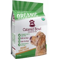 Catered Bowl Organic Turkey Recipe Dry Dog Food , 4-lb bag