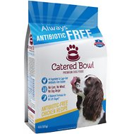 Catered Bowl Antibiotic-Free Chicken Recipe Dry Dog Food , 4-lb bag