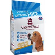 Catered Bowl Antibiotic-Free Turkey Recipe Dry Dog Food , 4-lb bag