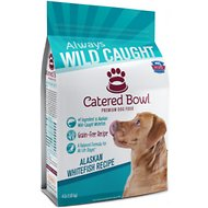 Catered Bowl Alaskan Whitefish Recipe Dry Dog Food , 4-lb bag