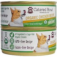 Catered Bowl Organic Chicken Recipe Canned Dog Food , 5-oz, case of 24