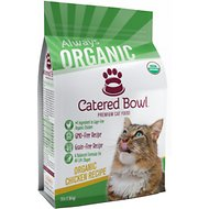 Catered Bowl Organic Chicken Recipe Dry Cat Food , 3-lb bag