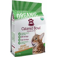 Catered Bowl Organic Turkey Recipe Dry Cat Food , 3-lb bag