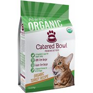 Catered Bowl Organic Turkey Recipe Dry Cat Food , 7-lb bag