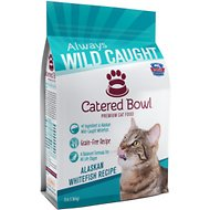 Catered Bowl Alaskan Whitefish Recipe Dry Cat Food, 3-lb bag