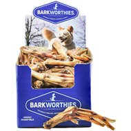 Barkworthies Duck Feet Dog Treats, Case of 35