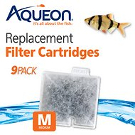 Aqueon QuietFlow Medium Replacement Filter Cartridges, 9 count