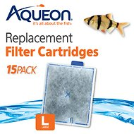 Aqueon QuietFlow Large Replacement Filter Cartridges, 15 count