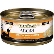 CANIDAE Adore Chicken & Carrots in Broth Canned Cat Food, 2.46-oz, case of 24