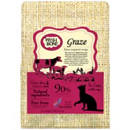 Wishbone Graze Grain-Free Dry Cat Food, 4lb-bag