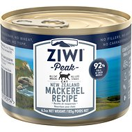 Ziwi Peak Mackerel Recipe Canned Cat Food, 6.5-oz, case of 12