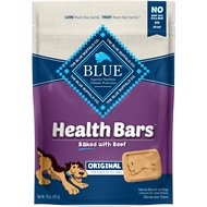 Blue Buffalo Health Bars Baked Beef Dog Treats, 16-oz bag