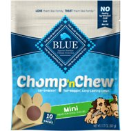 Blue Buffalo Mini Chomp 'n Chew Long-Lasting Dog Chew, 10 count