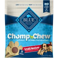 Blue Buffalo Small/Medium Chomp 'n Chew Long-Lasting Dog Chew, 5 count