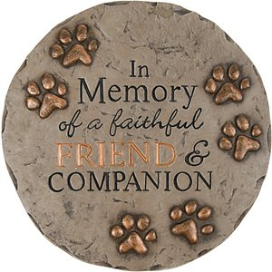 Carson Industries In Memory of Friend & Companion Garden Stone