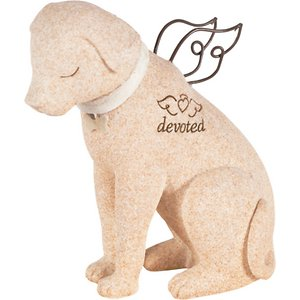 Carson Industries Faithful Angels Dog Statue