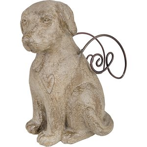 Carson Industries Faithful Friend Dog Memorial Figuirine