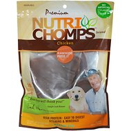 Premium Nutri Chomps Chicken Flavor Ears Dog Treats, 10 count